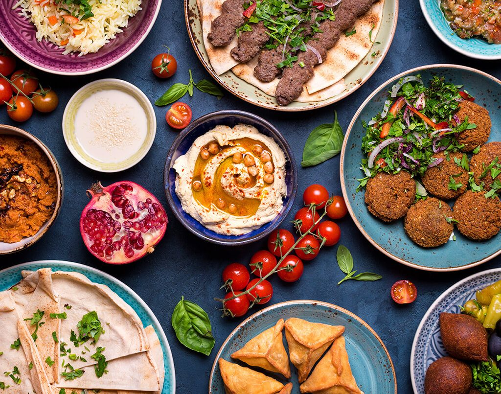 Middle Eastern Appetisers & Dips
