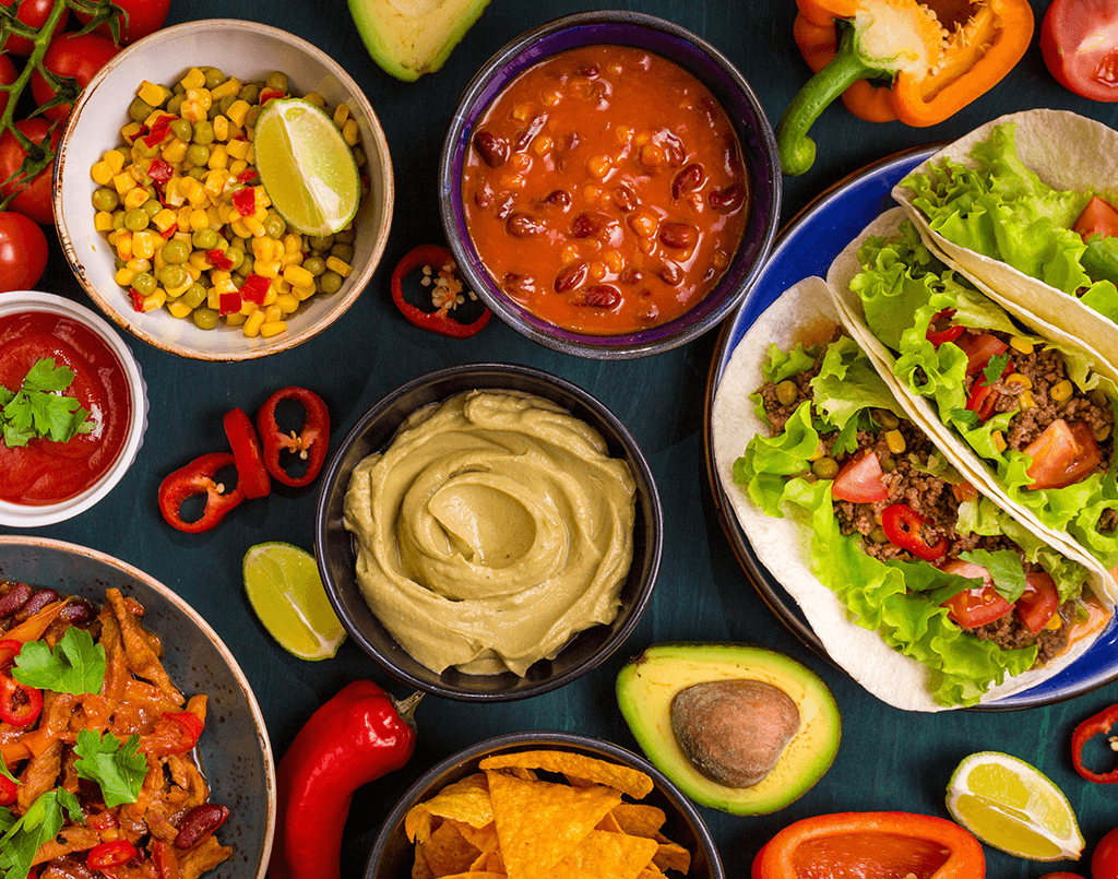 Date Night Cooking  – Four Course Spanish & Mexican Menu