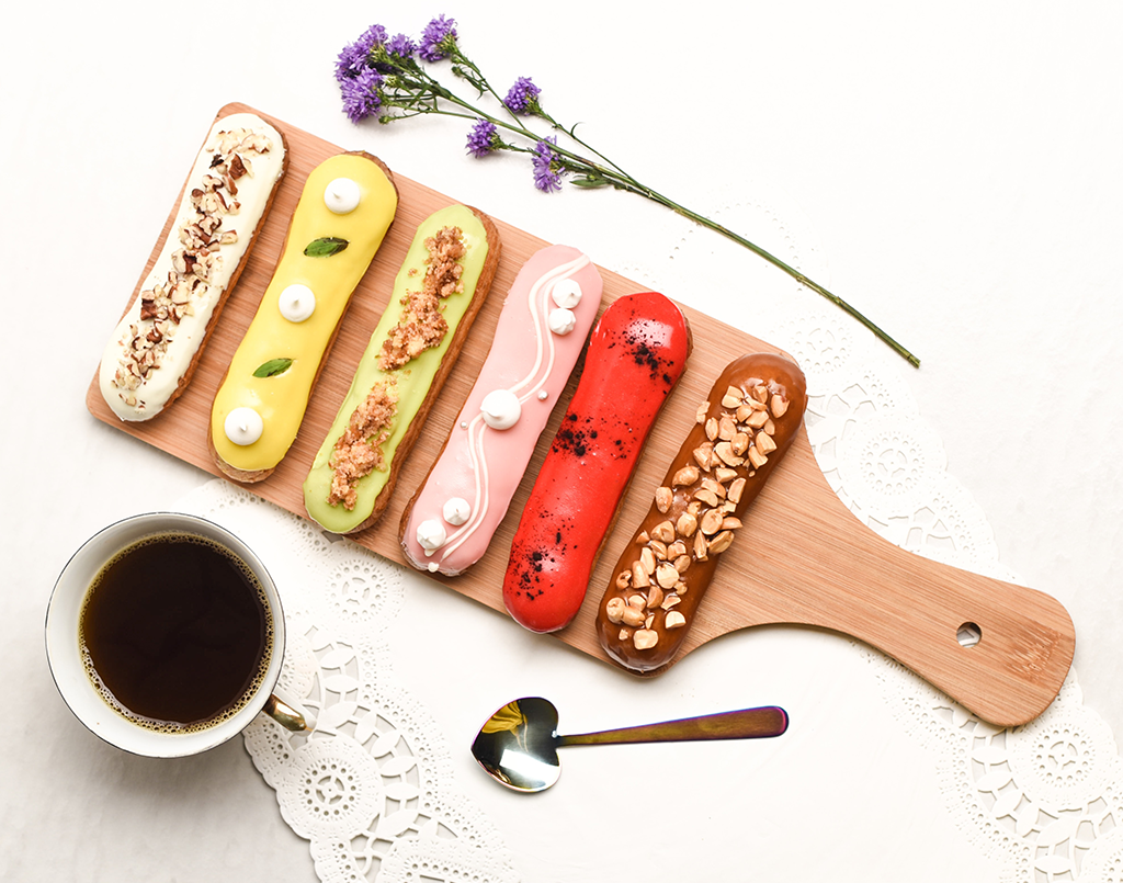 Advanced Course in French Eclairs by Chef Sandhya from L' Éclair studio
