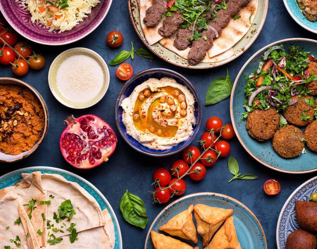 Middle Eastern & Indian Cuisine