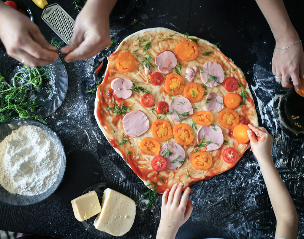 Pizza Making For Kids