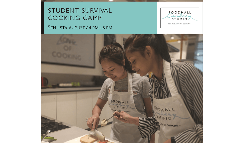 Student Survival Cooking Camp