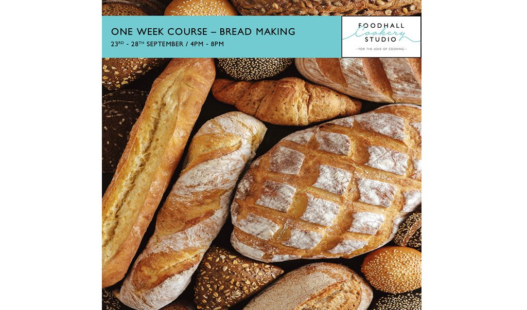 One Week Course – Bread Making