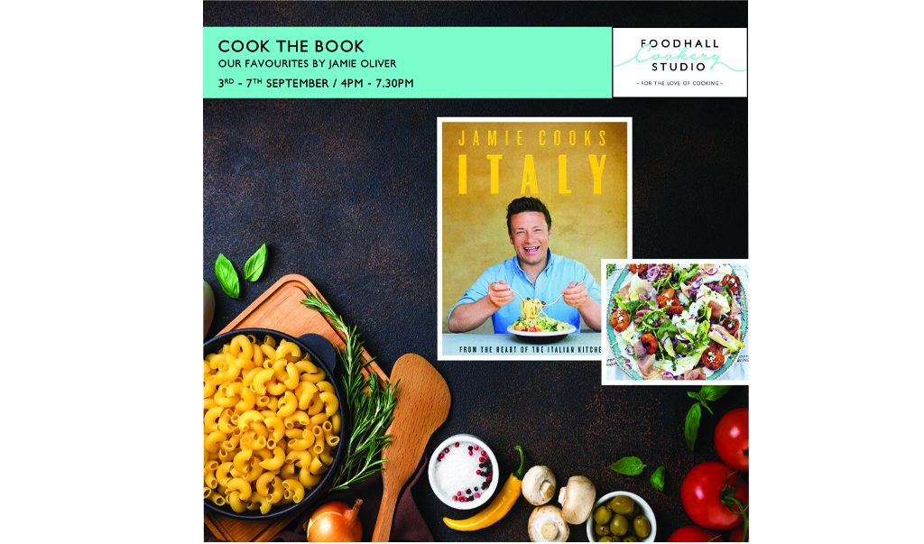Cook the book – Jamie Olivers Healthy & Easy Recipes