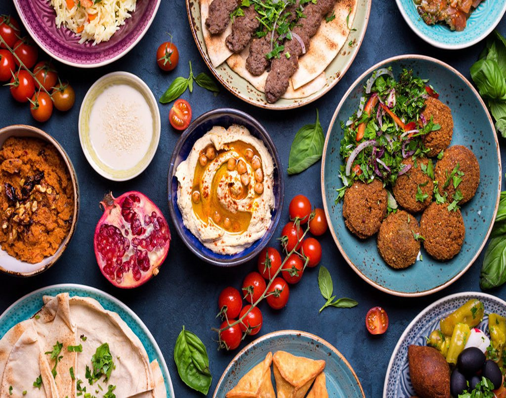 Intensive Middle Eastern cuisine
