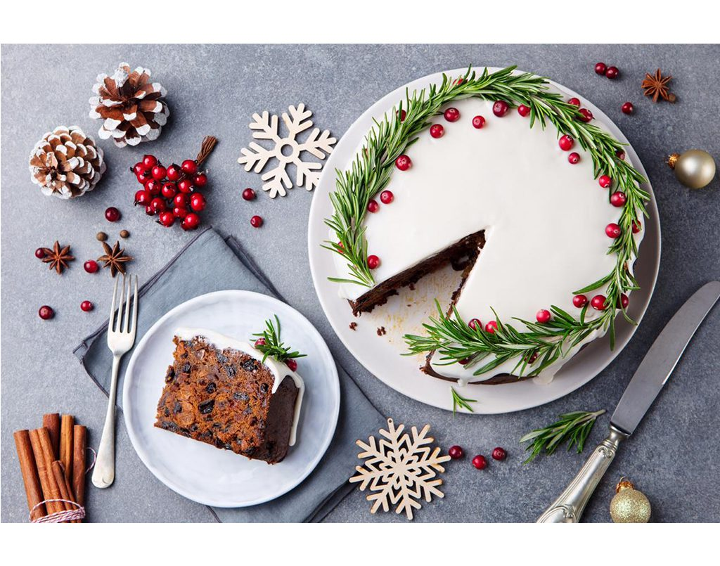 Christmas Cake Baking & Decorating For Kids