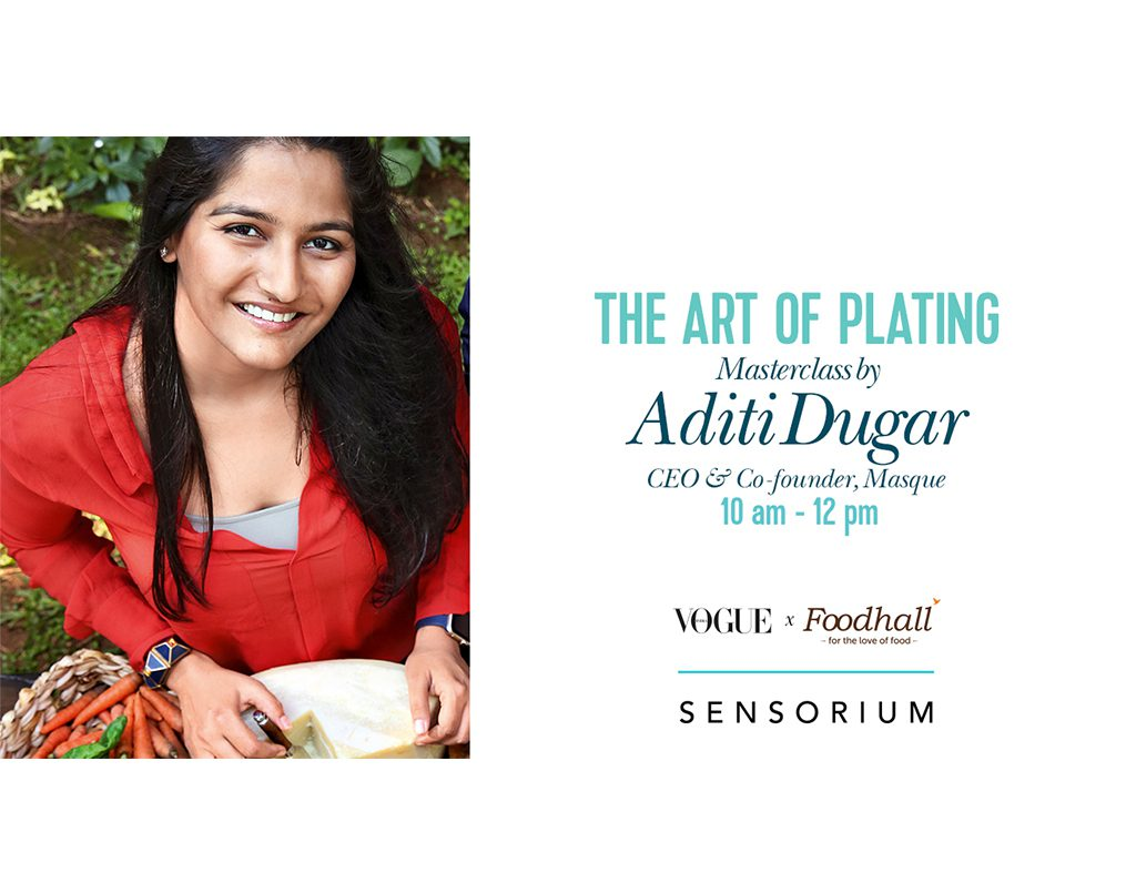 The Art of Plating with Aditi Dugar