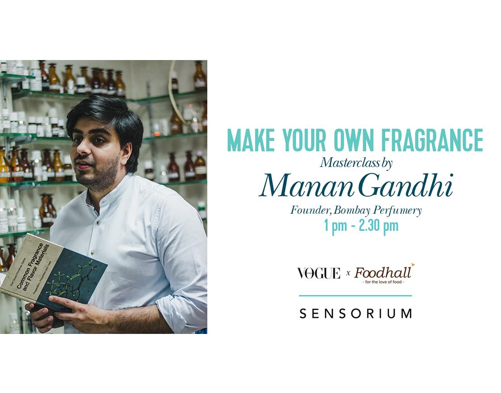Make your own Fragrance with Bombay Perfumery