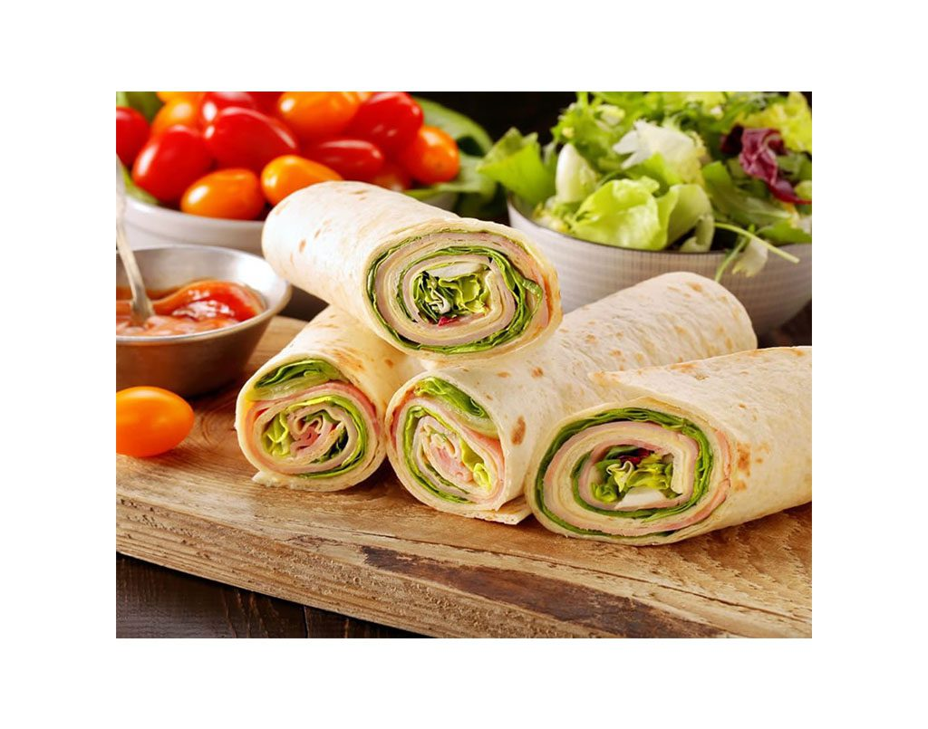 Healthy Wraps, Sandwiches & Dips