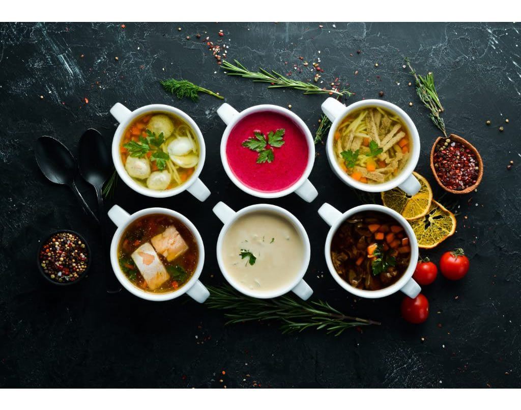 Gourmet Party Soups