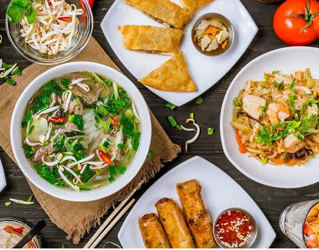 Intensive South East Asian Cuisine