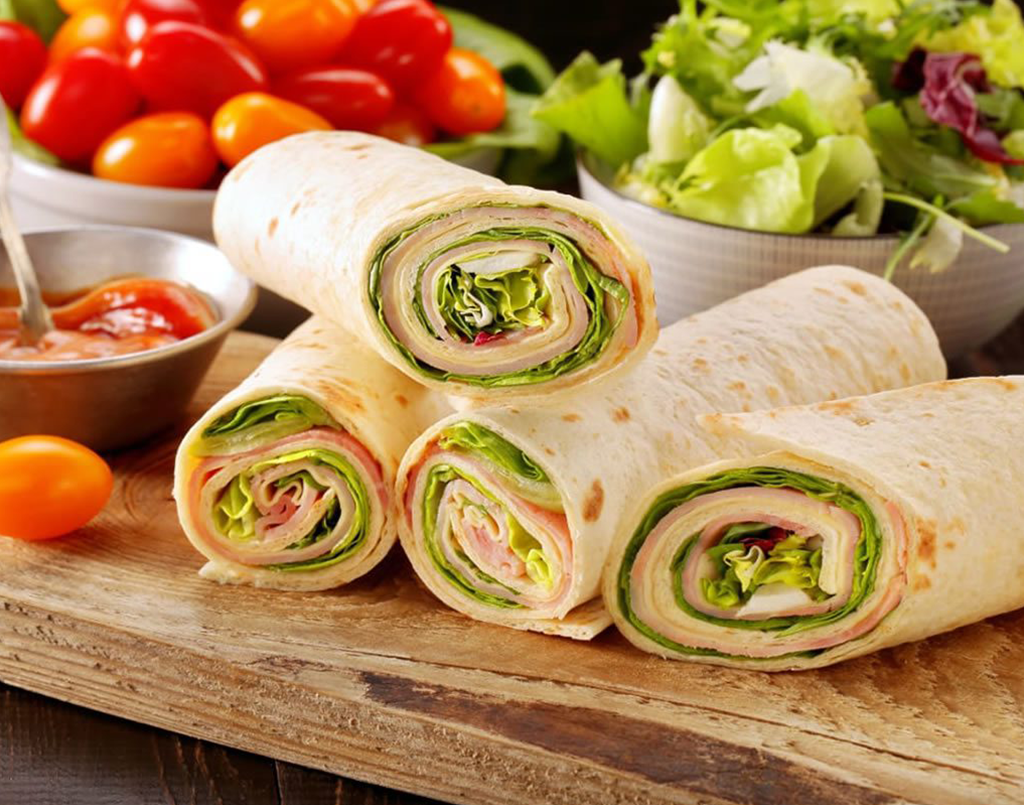 INTENSIVE CUISINE- SANDWICHES, SALADS AND WRAPS