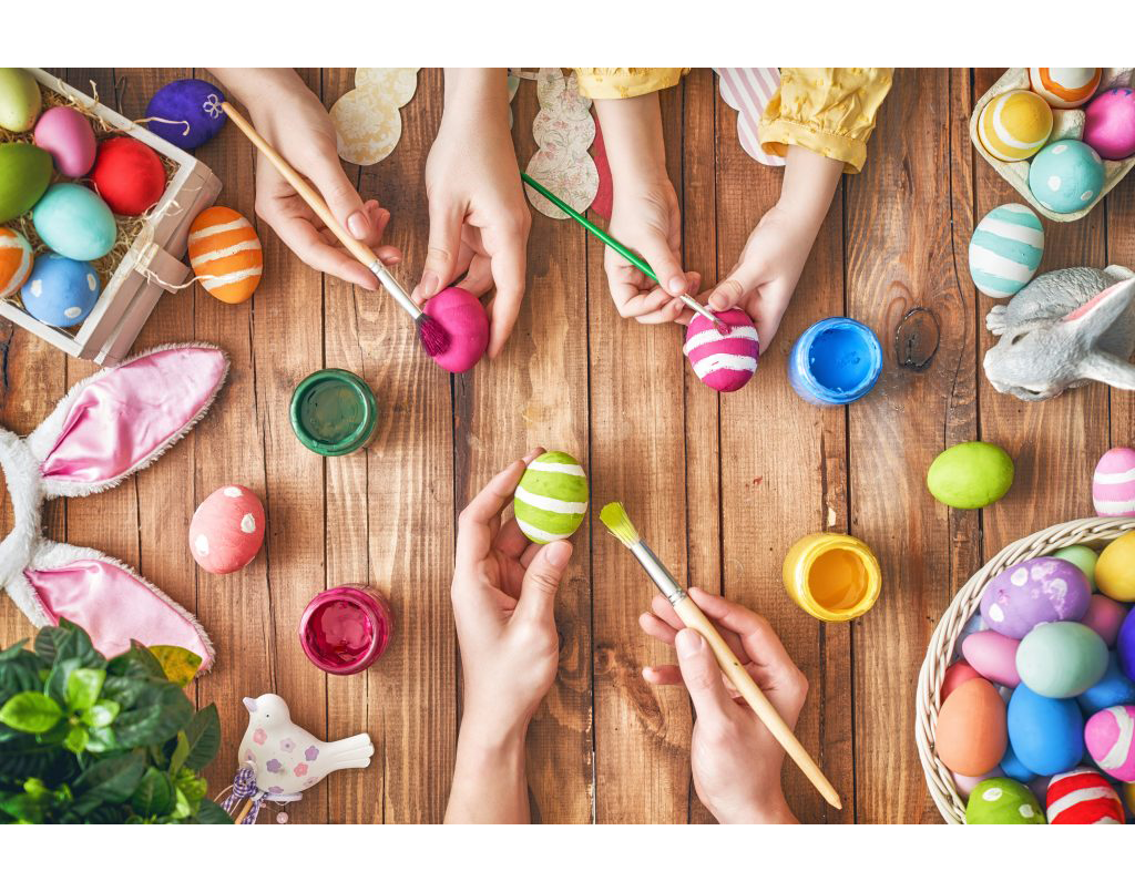 EASTEREGG MAKING & DECORATING FOR KIDS AND TEENS