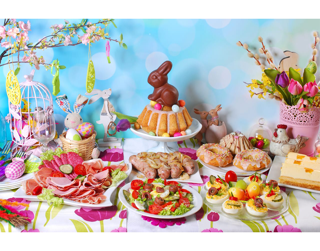 EASTER SALADS, APPETISERS & DIPS