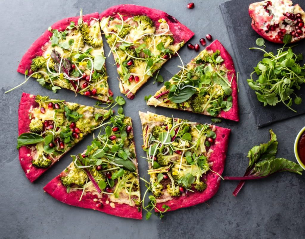 Healthy Pizza Making