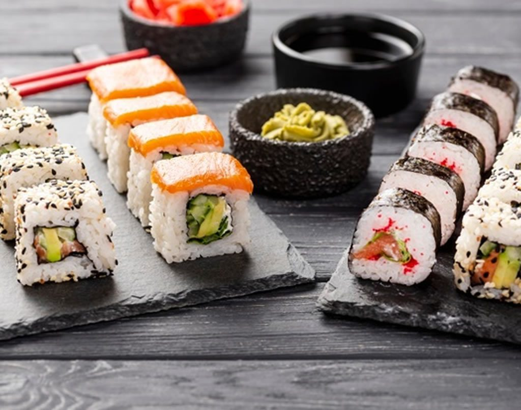 Party Sushi Platters (ONLINE CLASS)