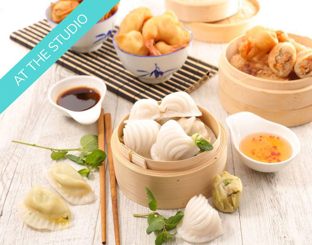 Date Night -Chinese Dimsums (in-studio class)