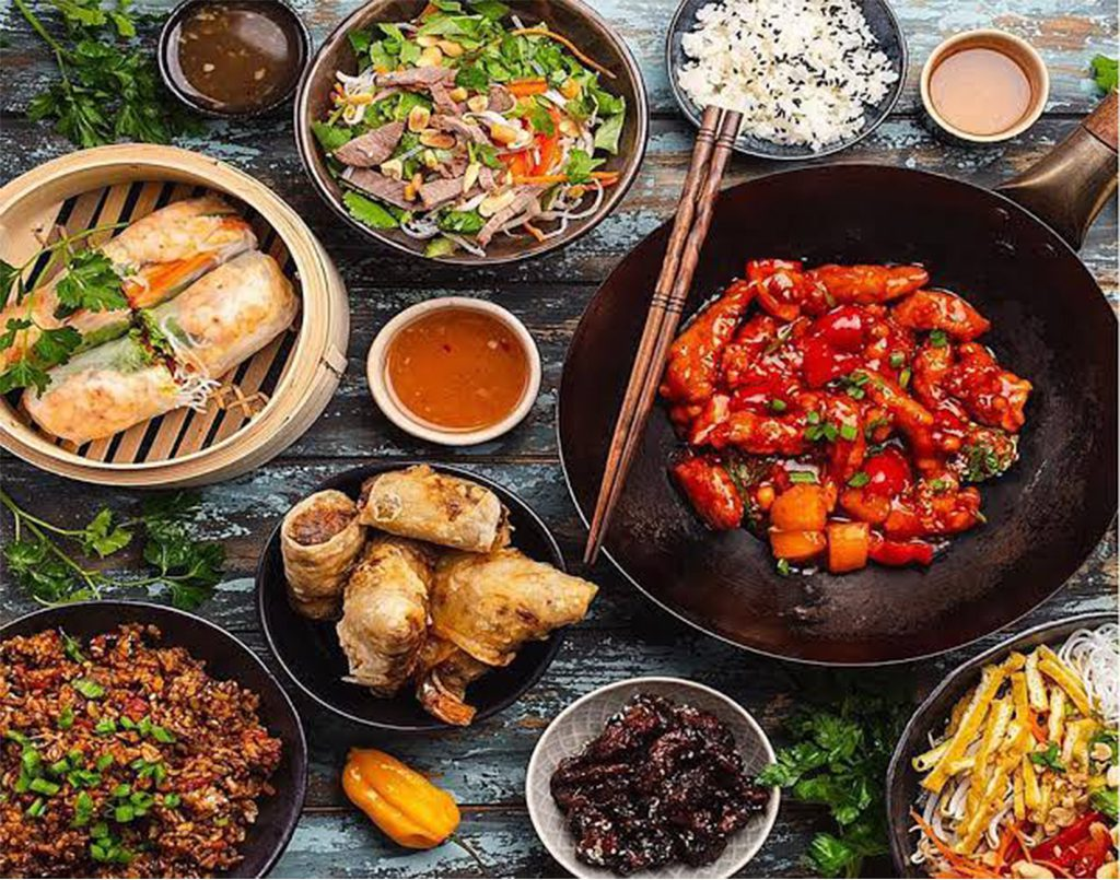 Asian appetisers (online class)