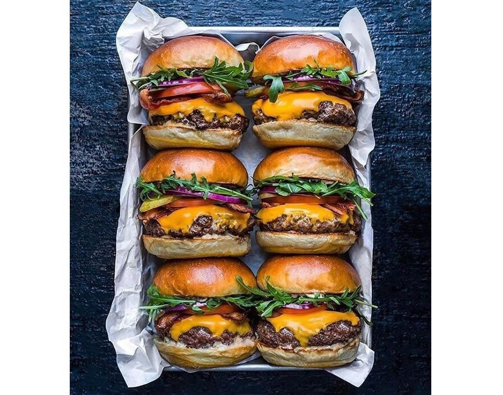 Burger and sliders  (online class)