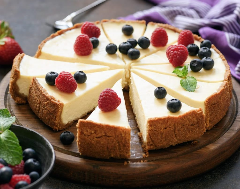 Different Styles of Cheesecakes (online class)