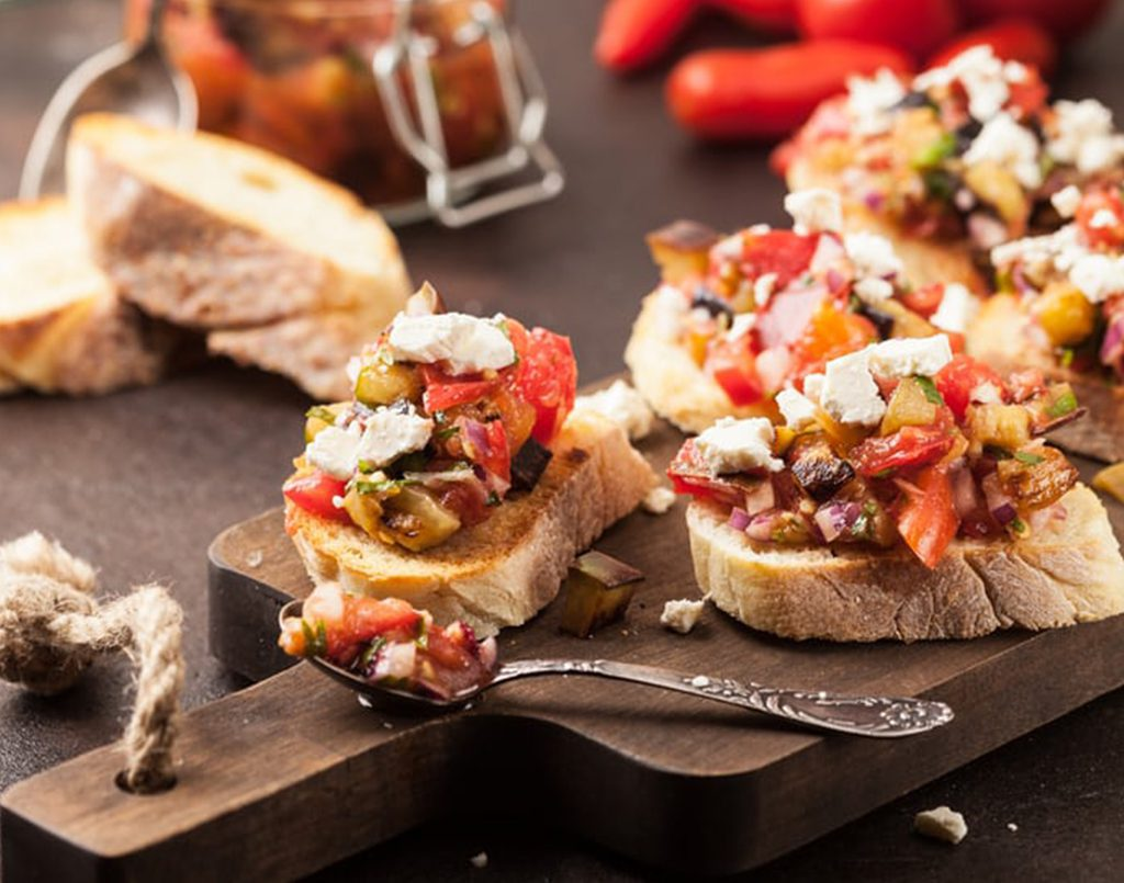 Summer Canapes & Tartines  (online class)