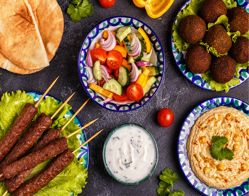 Middle eastern hot Mezze & small plates by manpreet dhody (Online)